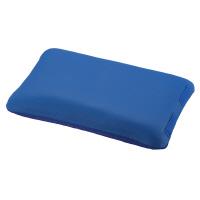 入浴サポートクッションⅡ(枕型小)ブルー