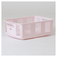 脱衣カゴ ピンク