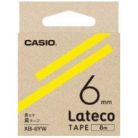 ラテコ専用テープXB-6YW 黄に黒文字