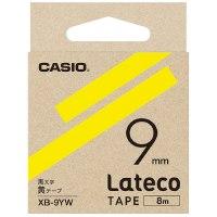 ラテコ専用テープXB-9YW 黄に黒文字