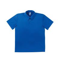 ドライポロシャツMS3107ブルーS
