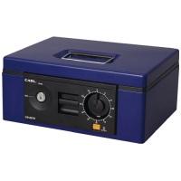 キャッシュボックス CB-8670-B ブルー B5