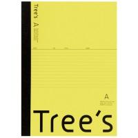 Trees A4 A罫 40枚 イエロー
