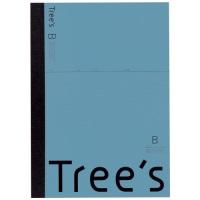 Trees A4 B罫 40枚 ブルーグレー