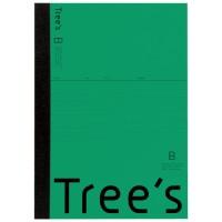Trees A4 B罫 40枚 グリーン