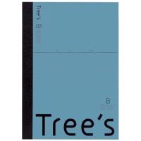 Trees A5 B罫 30枚 ブルーグレー
