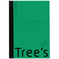 Trees A5 B罫 30枚 グリーン