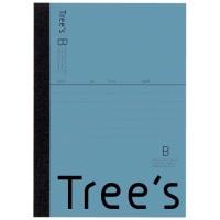 Trees A6 B罫 48枚 ブルーグレー