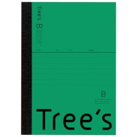 Trees A6 B罫 48枚 グリーン