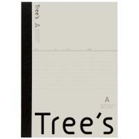Trees B5 A罫 40枚 クリーム