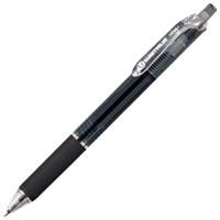 ノック式油性ボールペン10本 H048J-BK-10黒