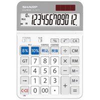 軽減税率セミデスクトップ電卓EL-SA72-X