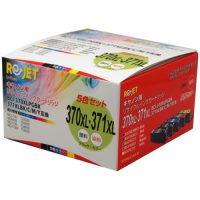 リサイクルインクEC370XL371XLB-5P