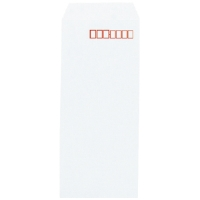 ホワイト封筒 407-80 長4 1000枚