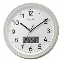 リズム 電波掛時計 8FYA02SR03