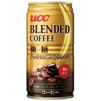 ※UCCブレンドコーヒー微糖 缶 185g×30本