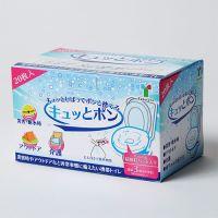 ◆ロール式携帯トイレキュッとポン20枚 6箱