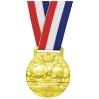 △3D合金メダル つなひき