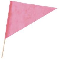 三角旗 不織布 桃