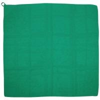 ループ付カラースカーフ ミニ 緑