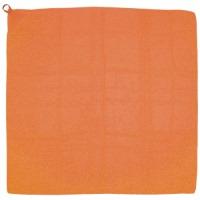 ループ付カラースカーフ ミニ オレンジ