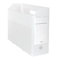 PPボックスファイル+ クリアホワイト