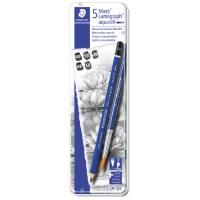 アクエレル水彩鉛筆 筆付100A G6なぞり絵付