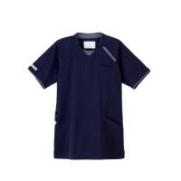 男女兼用ニットシャツCX3112 ネイビーS