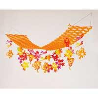 紅葉ぼんぼりハンガー 39-3595