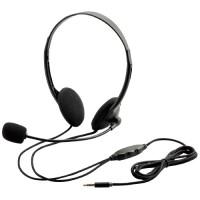 4極 両耳オーバーヘッドセット HS-HP22TBK