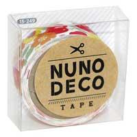 ヌノデコテープ  花柄のスカーフ 15-249