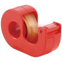 セロテープ小巻カッター付 CT-12DCC 赤