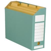 ボックスファイル ヨコ型緑10冊 D044J-GR