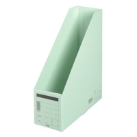 ボックスファイル FL-052BF A4S 青