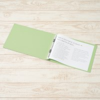 フラットファイル 022N A4E グリーン 10冊_選択画像02