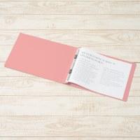 フラットファイル 022N A4E ピンク 10冊_選択画像02