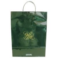 ゴールドバッグ手提袋 L NO.045 緑