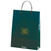 ゴールドバッグ手提袋 M NO.025 緑
