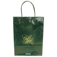 ゴールドバッグ手提袋 S NO.015 緑