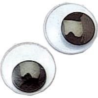 うごく目(10個) 中 径12mm