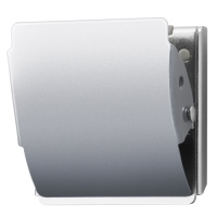 マグネットクリップCP-047MCR L 銀 10個