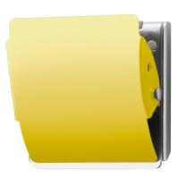 マグネットクリップ CP-047MCR L 黄 10個