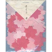 貼り絵 805038-7 桜中