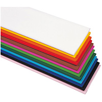 クレープ紙 黄 50cm x 2.5m 1枚