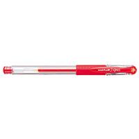 ボールペン シグノ UM151.15 極細 赤 10本