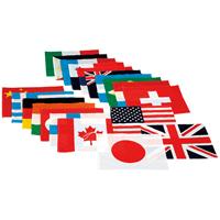 ◎万国旗(20カ国) EKA-381 旗のみ
