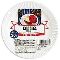 ◎紙皿 ホワイトプレート 15cm 30枚