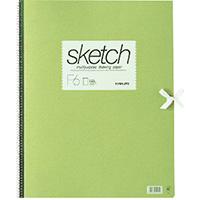 スケッチブック 画用紙 F6 SK966