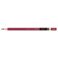 硬筆書写用鉛筆3角 4B UKS3K4B