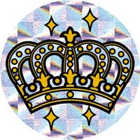 パリオシール PS1435 王冠ホログラム